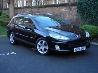 AA WARRANTY! 2008 PEUGEOT 407 SW 2.0 HDi SE 5dr AUTO, PANORAMIC ROOF, 1 YEAR MOT