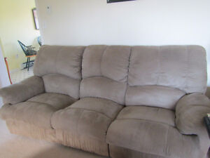 Recliner Couch, Love seat and Chair