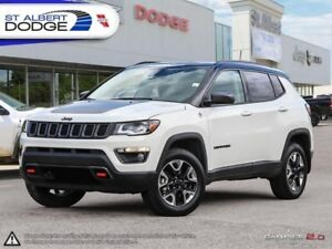 2018 Jeep Compass Trailhawk 4x4  HEATED LEATHER | SUNROOF | BACK