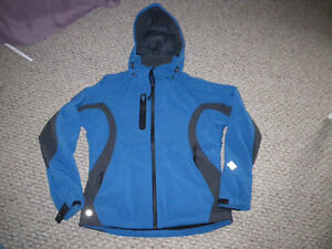 various quality jackets, Stormtech, Running Room, New Balance,