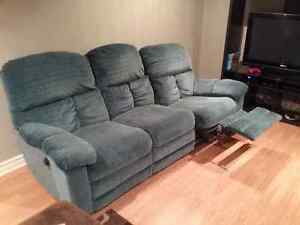 Reclining Couch and Love Seat  $250.00 + Delivery