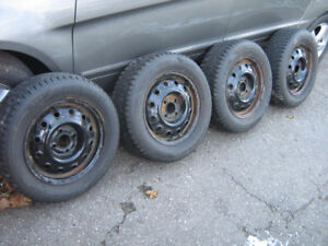 "185/65/14"" rims and tires  Corolla, Yaris,  4x100"