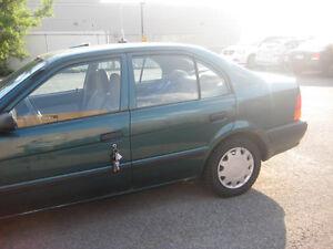 1997 Toyota Tercel CE Berline