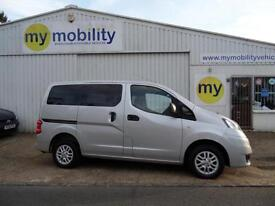 Nissan NV200 Wheelchair Disabled 5 Seat Accessible Constables MPV WAV