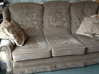 FREE 3 seater sofa AND matching chair