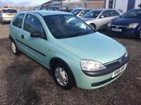 2001/51 Vauxhall/Opel Corsa 1.0i 12v Club FULL MOT HPI CLEAR EXCELLENT RUNNER
