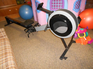 Concept 2 model C with PM4 rowing machine