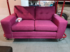 Brand New DFS Fabric Sofa In Orchid RRP £599