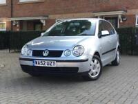 2002 Volkswagen Polo 1.2 SE 5dr