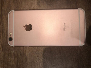 ROSE GOLD I PHONE 6S!! New with cases and Belkin Charger !!!