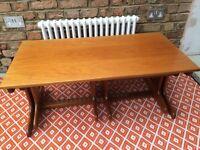 Retro vintage mid century nest of tables
