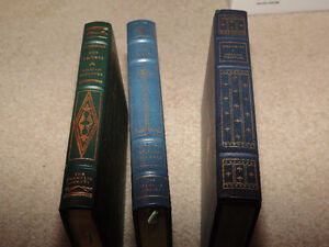 Three Franklin Mint Books Moby Dick Reivers Sound and the Fury London Ontario image 4