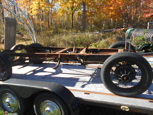 1931 Model A chassis for sale