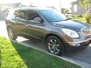 2008 Buick Enclave AWD SUV, LEATHER two sunroofs ,Navigation sys
