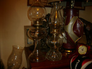 VINTAGE OIL LAMPS Kawartha Lakes Peterborough Area image 1