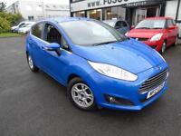 2013 Ford Fiesta 1.6TDCi ECOnetic Titanium - Blue - 3 Months Platinum Warranty