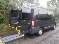 2013 Peugeot Boxer 2.2 HDi H1 110ps WHEELCHAIR ACCESSIBLE VEHICLE 5 door Whee...