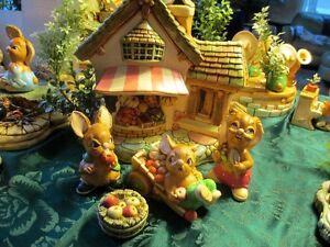 Pendelfin Fruit Shop, 4 figures