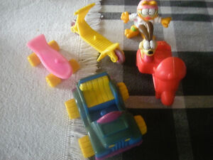 McDonald's Garfield Toys