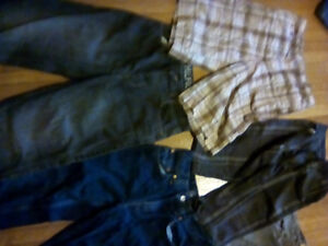Size 10 and 12 boys jeans and shorts