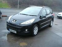Peugeot 207 SW 1.6HDi Active onky£20 taxlarge load capacity estate car 69k
