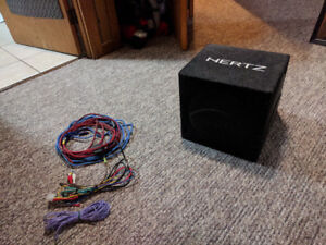 Hertz DBA 200.3 8' Powered Subwoofer