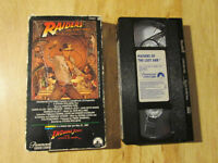 Indiana Jones RAIDERS OF THE LOST ARK Rare 1984 VHS TOD Teaser