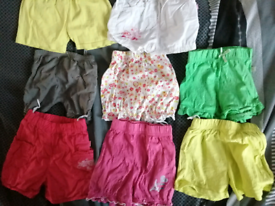 Baby Girl Shorts 6-9 month