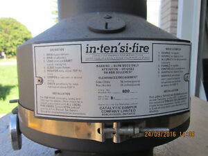Intensi Fire Catalytic Damper for Wood Stove