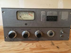 Ampex 601 vintage Pre Amps