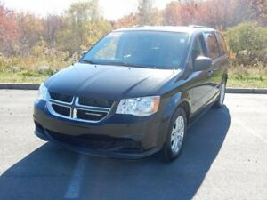 2016 Dodge GRAND CARAVAN SXT PLUS REAR CLIMATE AND BLUETOOTH!