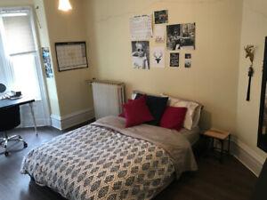 Summer Sublet w parking: DAL U, BIG  furnished room, yard/deck