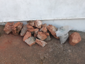 Rocks for rockery. Free if collect