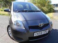 2009 59 TOYOTA YARIS 1.3 TR VVT-I 5D 99 BHP ** 1 OWNER CAR , YES WITH ONLY 56K *