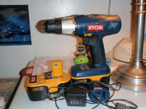 18V 3/8in. Ryoal Drill