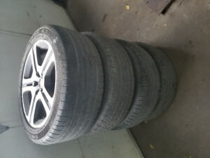 Volvo Rims 17inch with summer tires 225/50/R17 $250