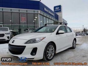 2012 Mazda Mazda3 GT  GT-Leather-Heated seats-Bluetooth-Bose sou