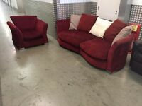 Sofa and armchair with FREE DELIVERY