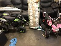 2x 50cc quads