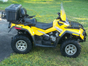 ATV 2008Can-am Outlander  500 2 up