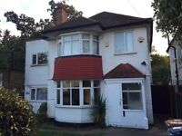 Large 4 bedrooms detached house to let in HA2
