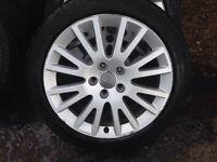 Audi A3 17inch alloys