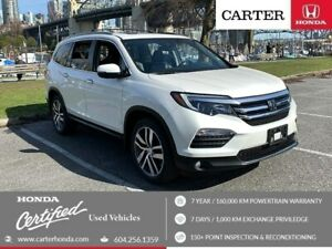 2016 Honda Pilot Touring + SPRING CLEARANCE + CERTIFIED!