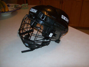 HOCKEY HELMET  WITH  FACE GUARD