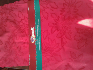 Damask Christmas Table Runners. Brand New. Approximately 13x48