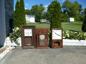 ANTIQUE WALL CLOCKS [X3] $350