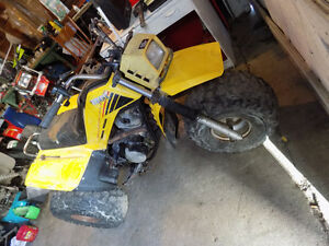 I have TWO yamaha 3 wheelers for sale OFFER or TRADES