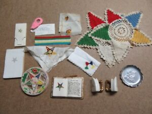 MASONIC EASTERN STAR ITEMS FREE MASON - SEE TEXT FOR LIST
