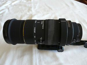 EX SIGMA LENS with Filter for Canon