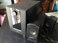 Powered Computer Speakers with Subwoofer